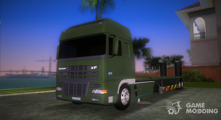 DAF XF 530 2002 Army for GTA Vice City