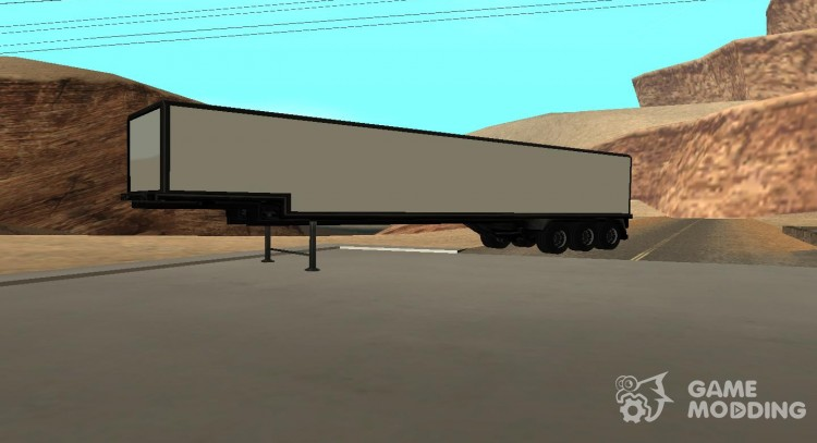 The trailer to the truck Tanker for GTA San Andreas