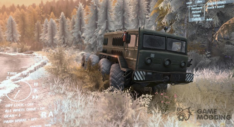 Winter for Spintires DEMO 2013