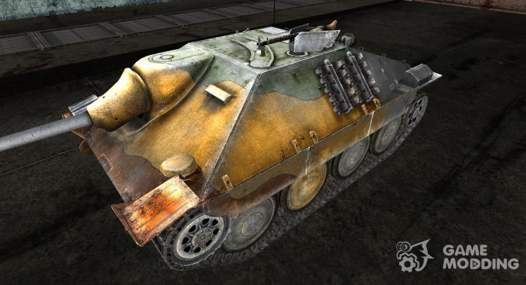 Skin for Hetzer for World Of Tanks