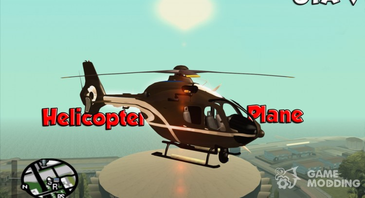Pak air transport of GTA V for GTA San Andreas