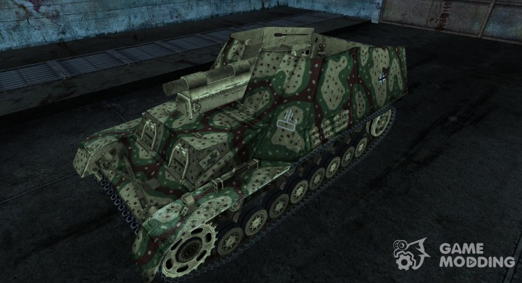 Hummel 06 для World Of Tanks