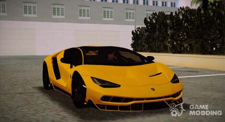 Lamborghini Centenario Lp770 4 Full Featured Black Rims For Gta San