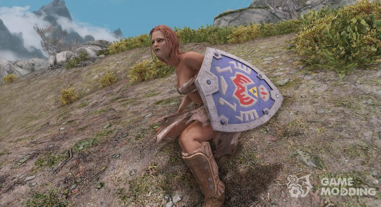The Legend of Zelda - Terminan Shield for TES V: Skyrim