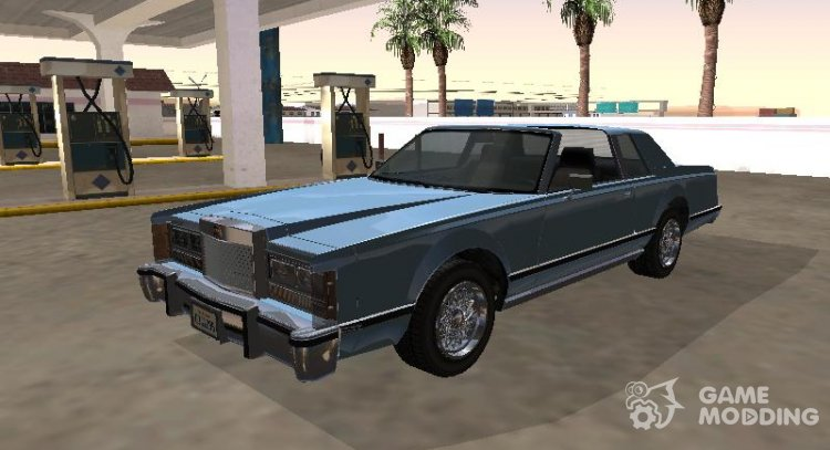 Virgo Continental Targa Version 1 for GTA San Andreas