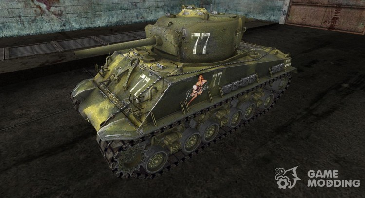 M4A3E8 Sherman from DrRUS for World Of Tanks