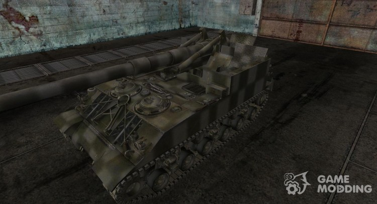 Skin for M40/M43 for World Of Tanks