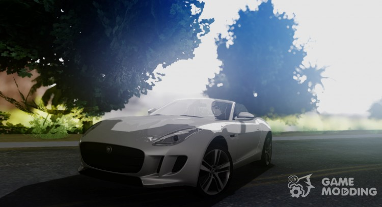 Jaguar F Type for GTA San Andreas