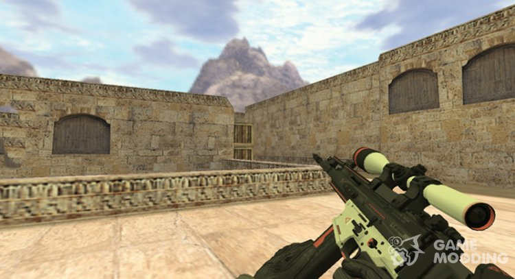 SCAR Sayreks for Counter Strike 1.6