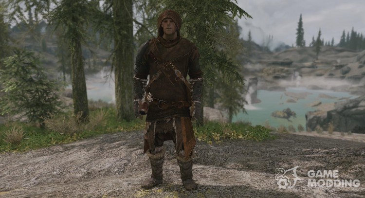 Wanderer Cuirass by Frank and Cabal for TES V: Skyrim