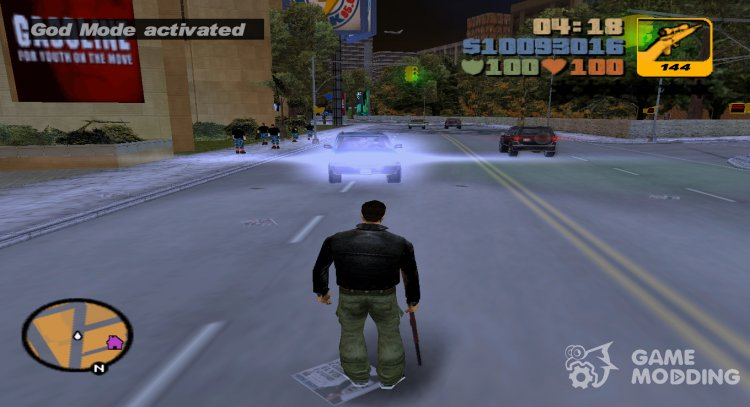 God Mode v2 for GTA 3
