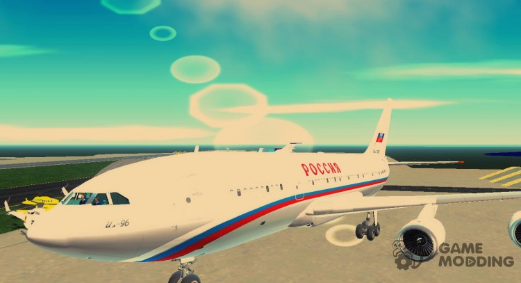 Il-96-300 STC Russia for GTA 3