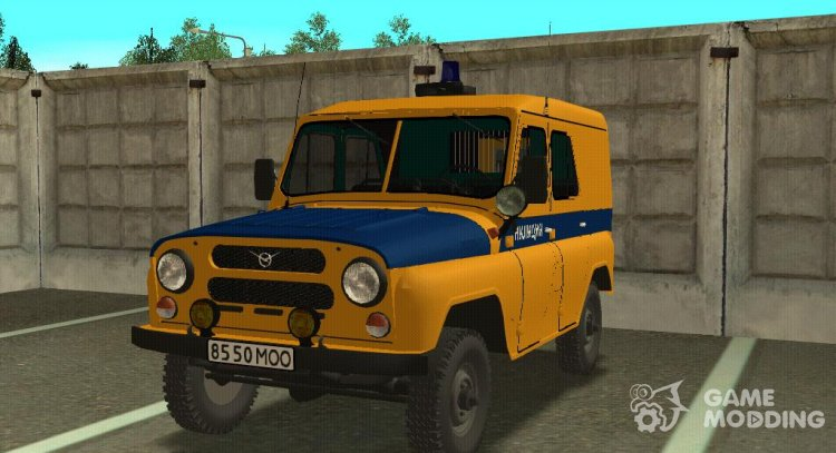UAZ 469 Militia for GTA San Andreas