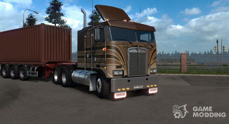 Kenworth K100-E for Euro Truck Simulator 2