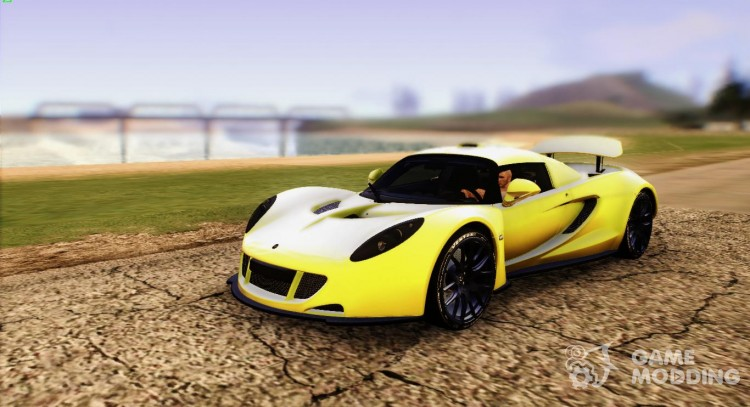 Hennessey Venom GT U.S.A American 2012 for GTA San Andreas