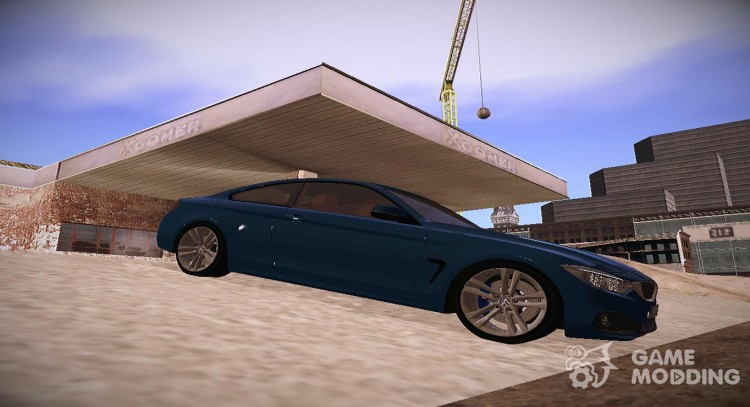 2014 BMW 4 series Coupe F32 for GTA San Andreas