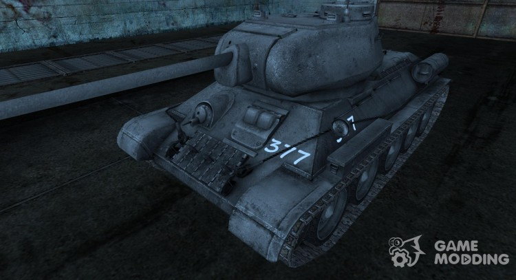 Шкурка для T-34-85 для World Of Tanks