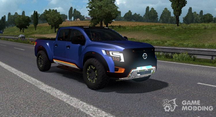 Nissan Titan Warrior for Euro Truck Simulator 2