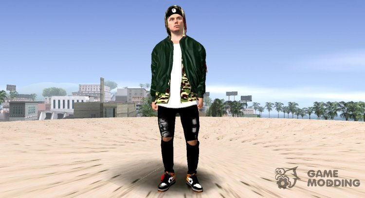 Marcel Sabitzer Without Mask for GTA San Andreas
