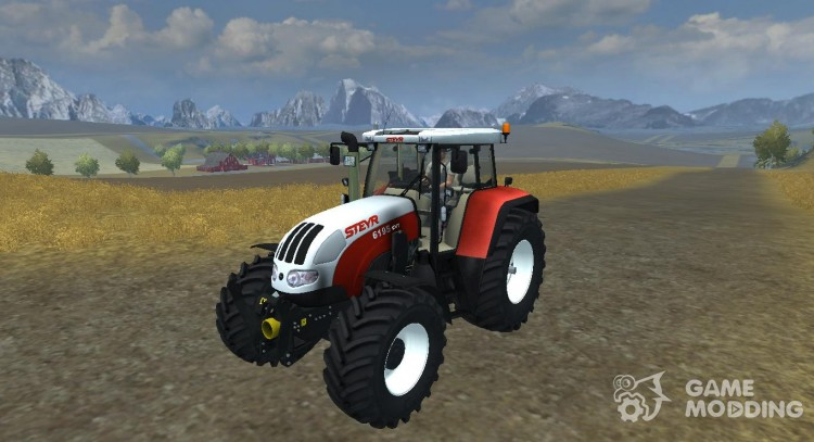 Steyr CVT 6195 v 2.1 для Farming Simulator 2013