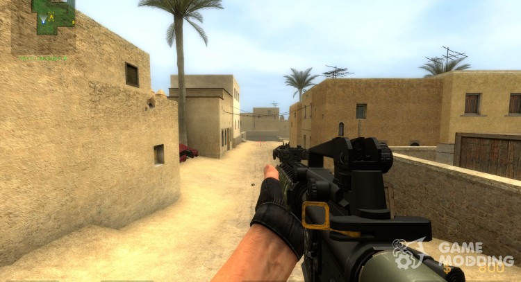 M16A4 & AK 47SD Animations by SlaYeR5530 UPDATE! for Counter-Strike Source