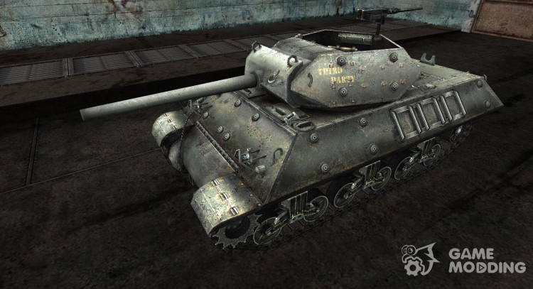 Skin for M10 Wolverine for World Of Tanks