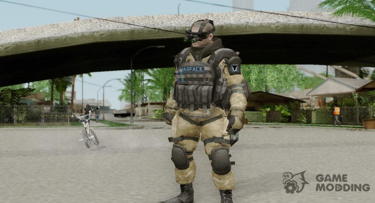 Engineer of Warface for GTA San Andreas