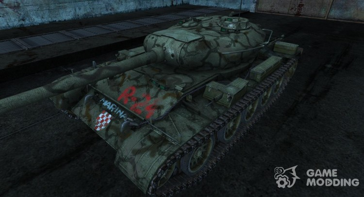 T-54 kamutator 2 for World Of Tanks