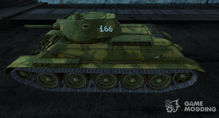 T-34 5 for World Of Tanks