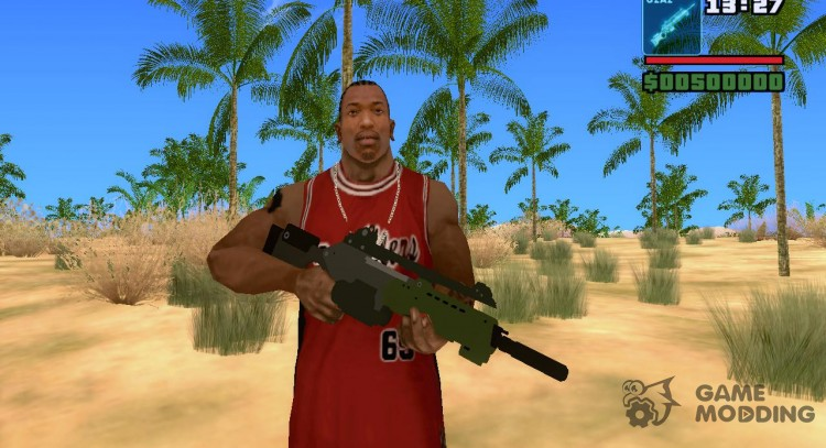 Assault Rifle G2A2 для GTA San Andreas