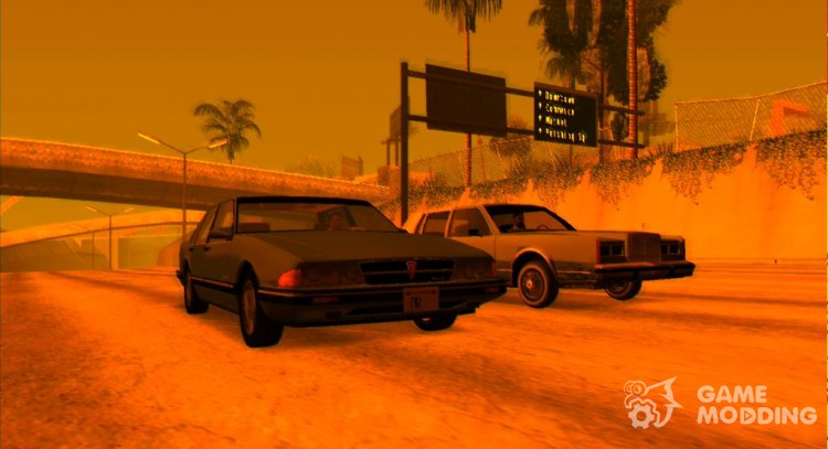 Atmosphere cars 1983-1989 years для GTA San Andreas