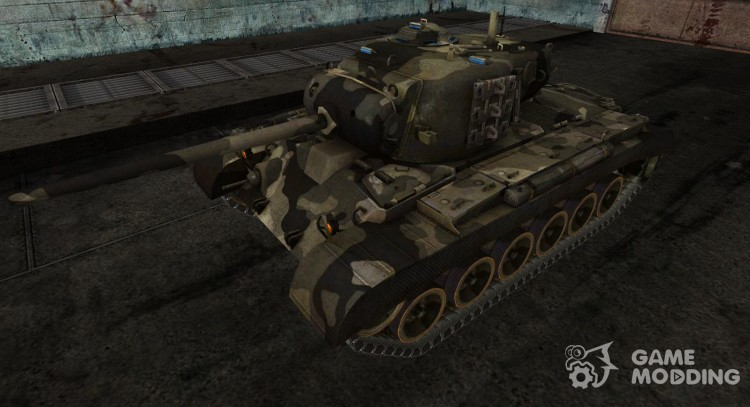 Skin for the M26 Pershing (0.6.5) for World Of Tanks