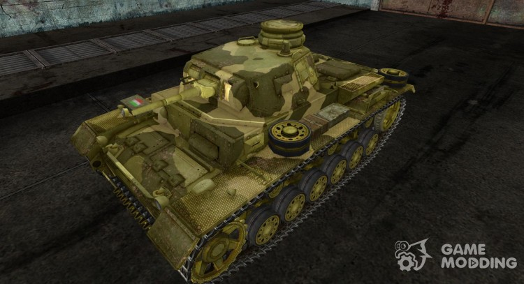 PzKpfw III 08 для World Of Tanks