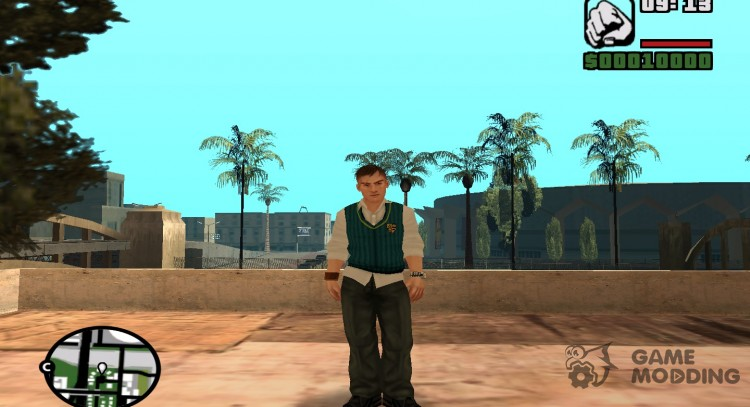 Gary Smith from Bully games for GTA San Andreas
