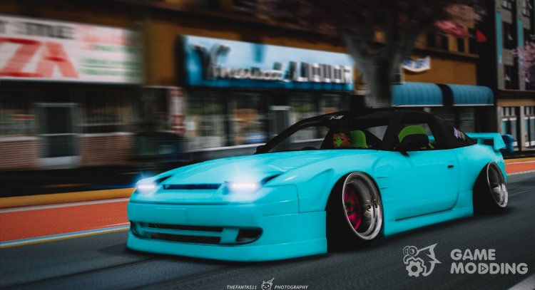 Nissan 180sx 2JZ for GTA 5