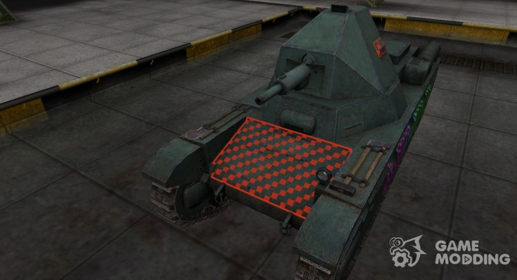 Quality of breaking through for the AMX 38 for World Of Tanks