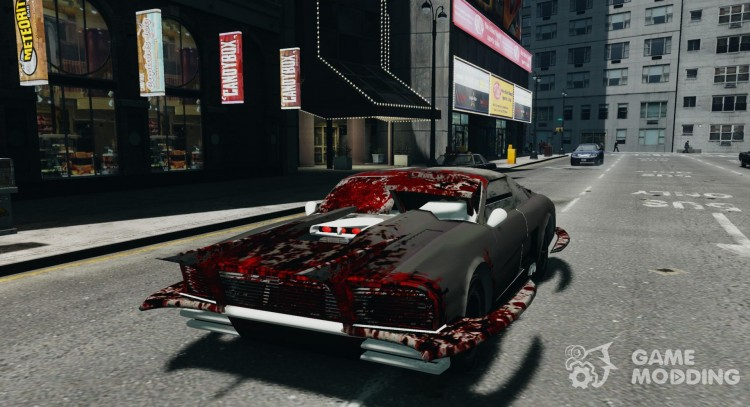Apocalyptic Mustang Concept (Beta) for GTA 4