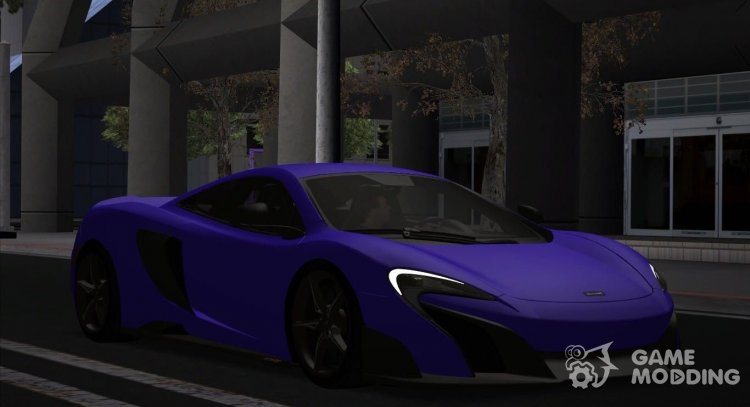 McLaren 675LT for GTA San Andreas