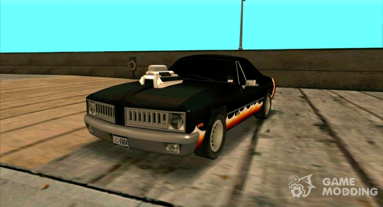 Diablo Stallion HD для GTA San Andreas