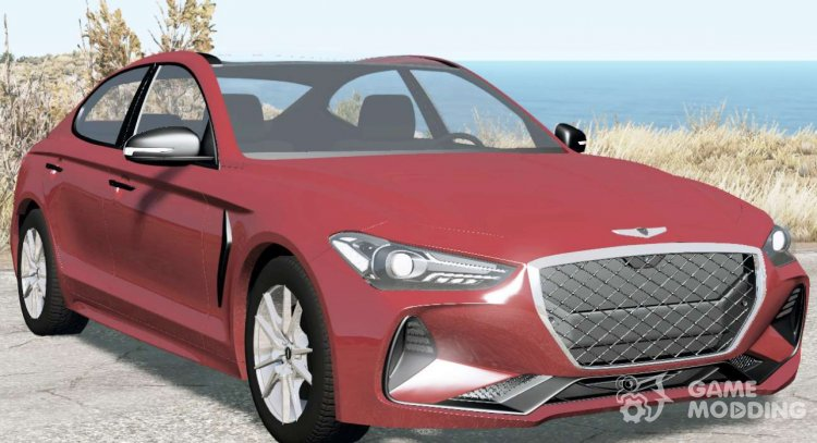 Genesis G70 3.3T 2017 for BeamNG.Drive