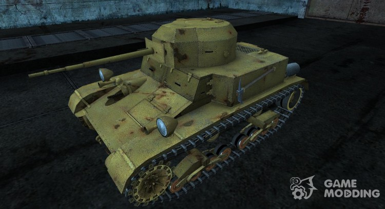 Шкурка для T2 lt для World Of Tanks
