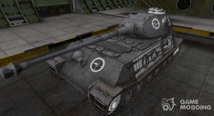 Breaking through the zone contour for VK 45.02 (P) Ausf. (B) for World Of Tanks