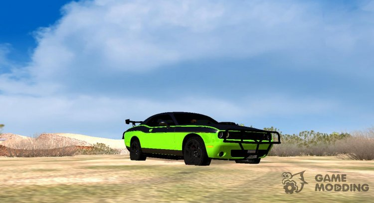 Dodge Challenger RTShaker F7 (IVF, VEHFUNCS, ADB) for GTA San Andreas