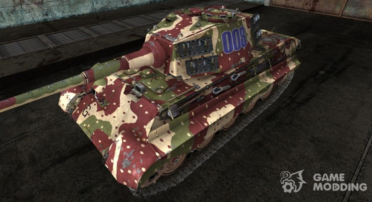 Panzer VIB Tiger II from KRENDEL2 for World Of Tanks