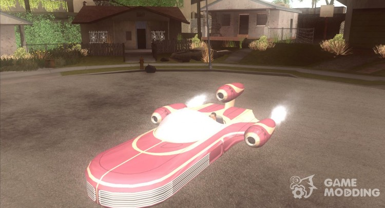 X 34 Landspeeder for GTA San Andreas