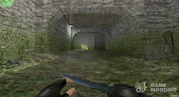 Default knife on my anims for Counter Strike 1.6