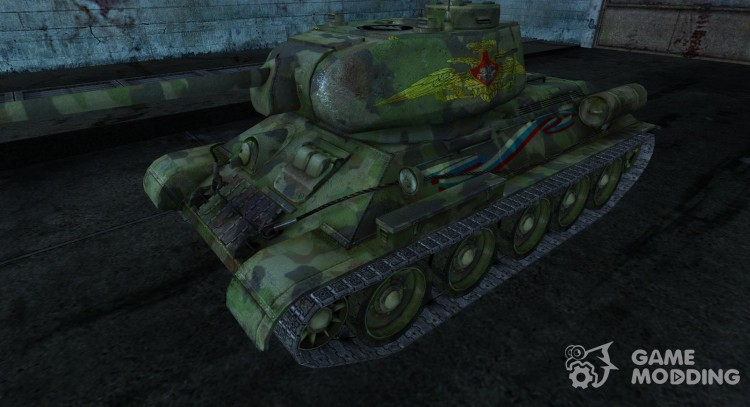 T-34-85 LeoN47AK for World Of Tanks