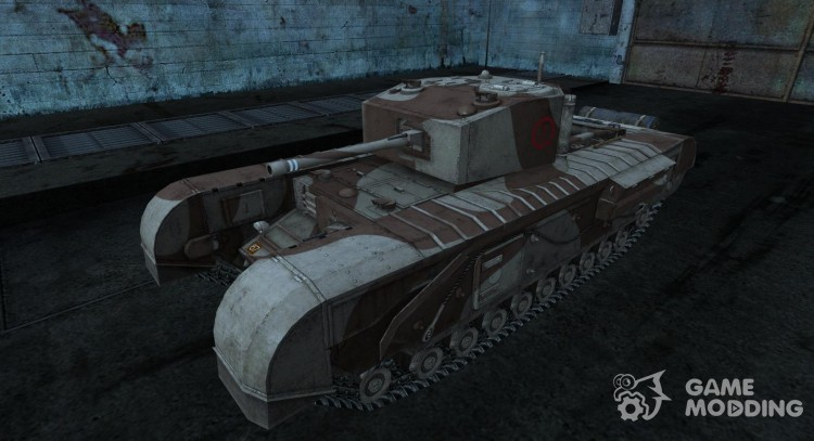 Skin for Churchill for World Of Tanks