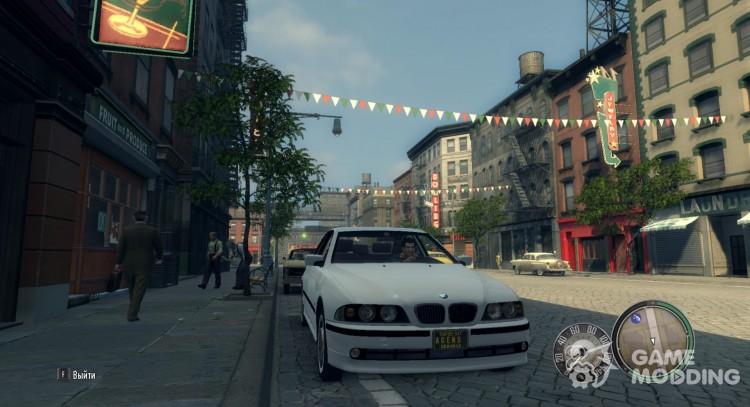 BMW 530 d E39 for Mafia II