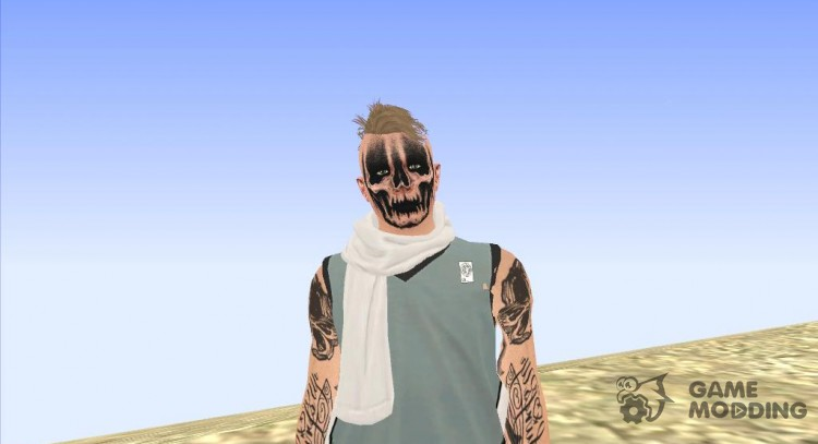 The guy in the Grimme GTA Online for GTA San Andreas